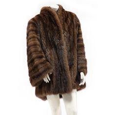 Russian Sable Coat, Giba-Noblia, Beverly Hills, Retailer Sold $2,400