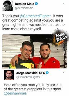 #Respect #UFC211 #mma #ufc