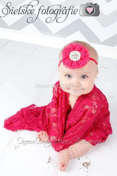>> Click to Buy << Baby Lace Wrap Set with Headband Newborn Photography Props-Ready to ship #Affiliate