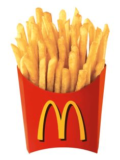 McDonald's french fries are served hot and generally eaten as an accompaniment with a burger as part of a set meal. My Favorite Food, Favorite Recipes, My Favorite Things, Mcdonald French Fries, Mcdonalds Fries, Mcdonalds Recipes, Mcdonalds Gift Card, Galaxy Note, Food Cartoon