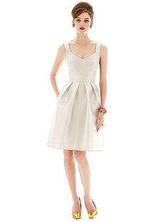 Alfred Sung Style D658 http://www.dessy.com/dresses/bridesmaid/d658/ Signature Bridal
