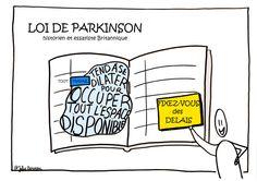 Voici des visuels sur la thématique des «Lois du temps». Inspirés des théories de Parkinson, Illitch, Pareto, Murphy, Laborit et Carlson, ces visuels ont été conçus et réali…