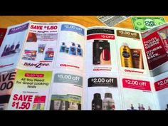 Extreme Couponing 101 - CVS for Beginners, Part 2 - YouTube