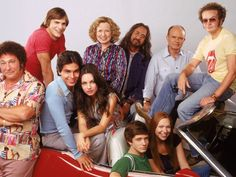 That '70s Show....I know it's from the 90s but still a great throwback show