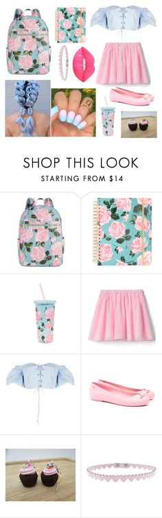 """""""Rose Parade"""" by angel-black2 on Polyvore featuring мода, ban.do, Melissa, OPI и Lime Crime"""