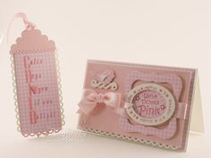 Baby Card and Tag Set - bjl