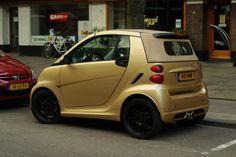 Smart ForTwo Ten Gold Edition - Foto Jim Appelmelk Smart Auto, Smart Car, Smart For 2, My Ride, Mini, Thailand, Training, Amazing, Board