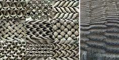 Стежок как способ формирования структуры и фактуры помимо вышивки используется в техниках стежки, stitched textiles и fabric manipulating. Основные техники,