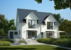 modern farmhouse plans with photos | The Yellow Cape Cod Modern Farmhouse Design Plan