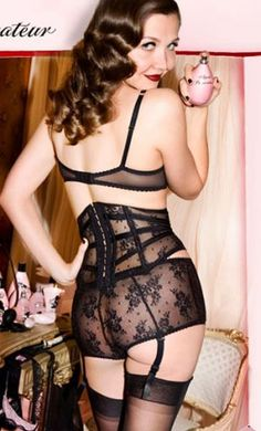Maggie Gyllenhaal for Agent Provocateur lingerie | myLusciousLife