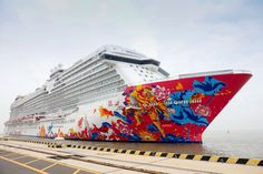 Dream Cruises, the first-ever Asian luxury cruise line, claimed its place in history on Sunday