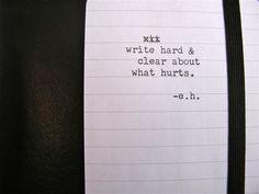 Writehard #xa