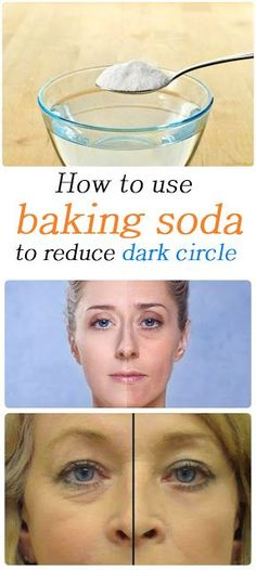 How to use baking soda to get rid of dark circle