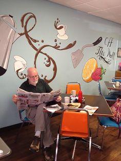 Restaurant / Cafe Duvar Resmi Boyama Örnekleri   Duvar Resmi Boyama Sanatı
