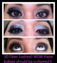 One eye with and one without our 3D fiber mascara. Younique 3-D Fiber Lash Mascara!!! 300% increase in eyelash volume using a two step wand kit of gel & green tea fibers! Only $29 for the kit!!! Join my team with a fast growing cosmetic company, designed around using social media and virtual on-line parties, to be able to have parties and sales 24/7 !!! (609)204-4277 https://www.facebook.com/groups/YouniqueKathysDaySpa/ https://www.youniqueproducts.com/KathysDaySpa