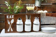 35 Genius Organization DIY Project Ideas Using Mason Jars