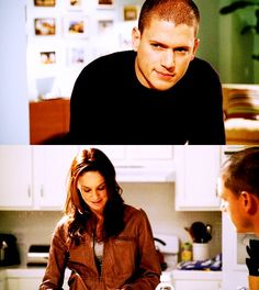 Prison Break: Michael and Sarah. I ship this 100%.