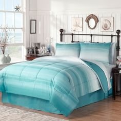 Ocean Complete Bed Ensemble - Bed Bath & Beyond- Guest Bedroom