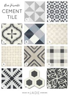 Cement Tile - House of Jade Interiors Blog