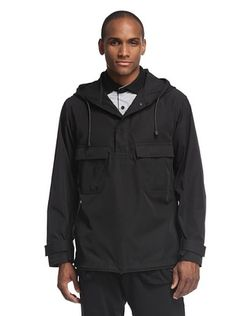 61% OFF adidas Y-3 by Yohji Yamamoto Men's Hooded Tech Twill Pullover