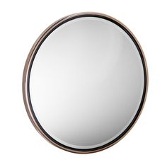 Holly & Martin Wais L x W Round Champagne Gold Beveled Wall Mirror at Lowe's. Round out your reflection with the Wais round wall mirror. Barely there metal frame cradles wide-beveled mirror in gilded