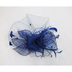 Blue headpiece