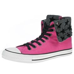 Converse All Star Folded Kick Hi ($61) ❤ liked on Polyvore