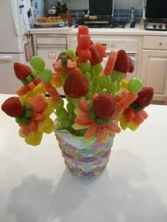 Fruit flower sticks