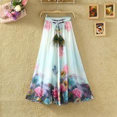 Faldas Bohemias in varios colores / Bohemian Skirts in various colors