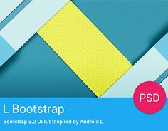 """Check out this @Behance project: """"L Bootstrap Freebie - UI Kit Inspired by Android L"""" https://www.behance.net/gallery/20188269/L-Bootstrap-Freebie-UI-Kit-Inspired-by-Android-L"""