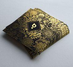 Print : Badcass - Design : Bullit - Carte de voeux en letterpress - #marquageàchaud #dorure
