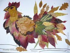 петух из осенних листьев Экскурсия