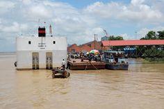Yangon River - Yangon, Myanmar