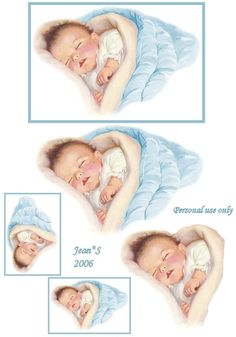 Jean Morris uploaded this image to 'Babies'. See the album on Photobucket. Vintage Baby Pictures, Images Vintage, Baby Images, Vintage Cards, Dibujos Baby Shower, Image 3d, Decoupage Printables, Baby Kind, Schlafendes Baby