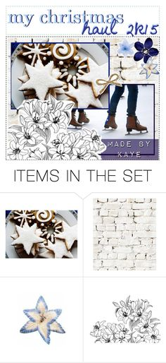 """my christmas haul 2k15 // kaye"" by teen-tips-magazine ❤ liked on Polyvore featuring art and kayestips"