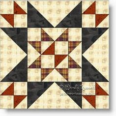 Patchwork Square Blog: A Quilt Block Fit for a Queen