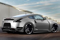 ♠ 2013 Nissan 370Z Grey #Car #Automotive