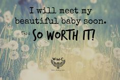 Birth affirmation - inspiration for a natural pregnancy, labor and childbirth.