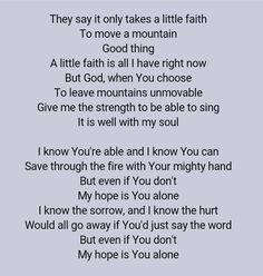 Mercy Me - Even If ❤
