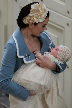 Christening of Prince Christian of Denmark in the chapel at Christiansborg Palace on January 21, 2006 in Copenhagen