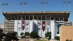 Kyle Field's new look.