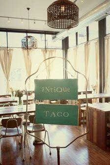 Best Tacos In Chicago   Antique Taco