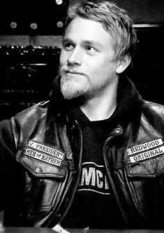 Charlie Hunnam (Jackson 'Jax' Teller) from Sons of Anarchy.He also played Raleigh Becket in Pacific Rim.