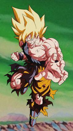 Goku Super Saiyan by Goku Super, Super Saiyan, Wallpaper Animes, Dragon Ball Image, Fan Art, Akira, Kawaii Anime, Anime Art, Manga Anime