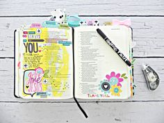 Illustrated Faith Bible Journaling Starter Kit | Bible Journaling by Stephanie Buice