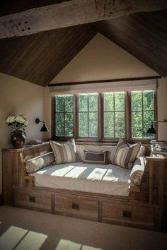 Εκπληκτικό χτιστό κρεβάτι στην σοφίτα με αποθηκευτικό χώρο!