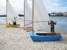 A perfect boat for the kids - inexpensive, quick and easy to transport. (fun for the adults too!)