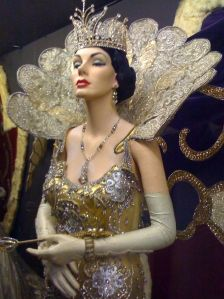 An amazing vintage Mardi Gras costume - from @Chris Cote March's Mad Fashion
