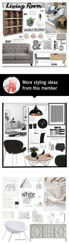 """""""Untitled #2282"""" by liliblue on Polyvore featuring interior, interiors, interior design, home, home decor, interior decorating, Dorel Asia, J. Hunt, Intelligent Design and Rough Fusion"""