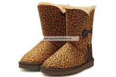 Bailey Button Ugg Boots 5803 Leopard
